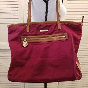 Michael Kors Red Large Tote